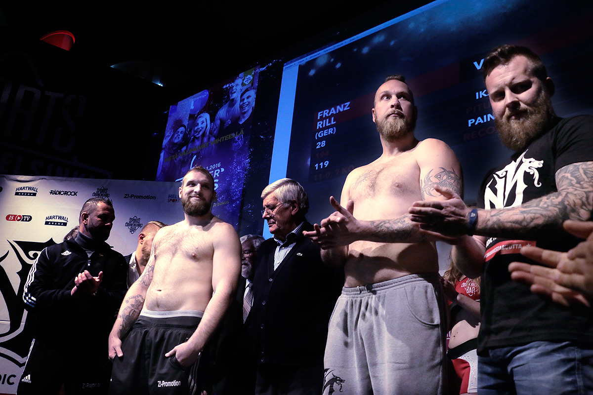 VIDEO: Franz Rill Compares Himself To Rocky in the European Title Fight Against Helenius
