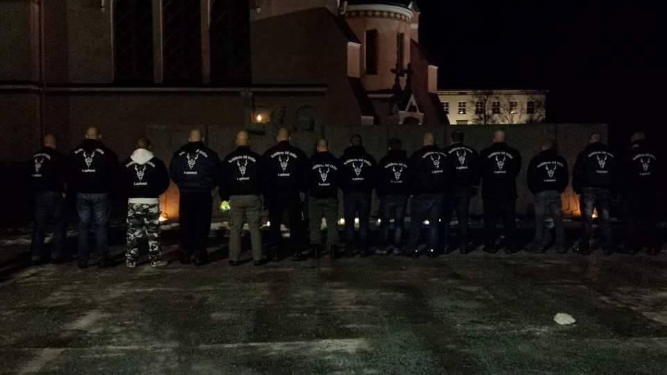 Soldiers of Odin would prohibit the practice of Islam in Finland. Picture: Soldiers of Odin