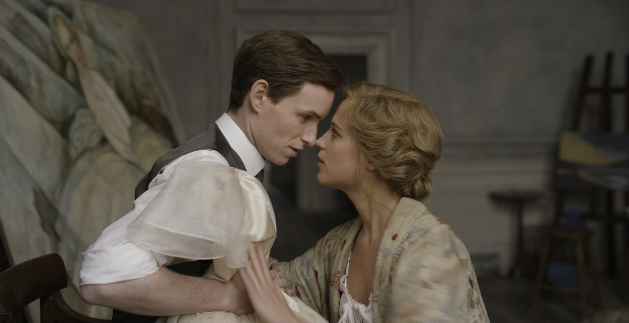 Eddie Redmayne plays Einar turning into Lili. Alicia Vikander plays Gerda, the artist and wife. Picture: Universal Pictures