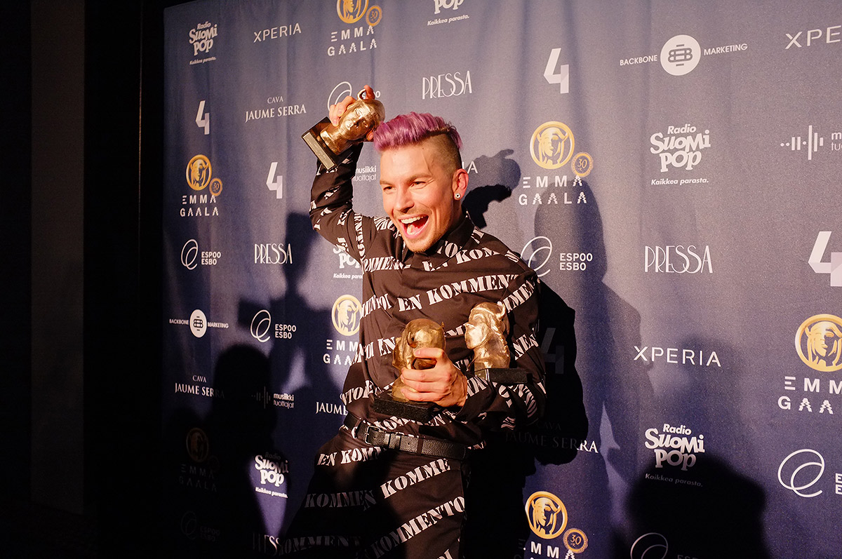 Here is the Cream of the Finnish Music Scene – The Winners of Emma Gala in VIDEO And PICTURES