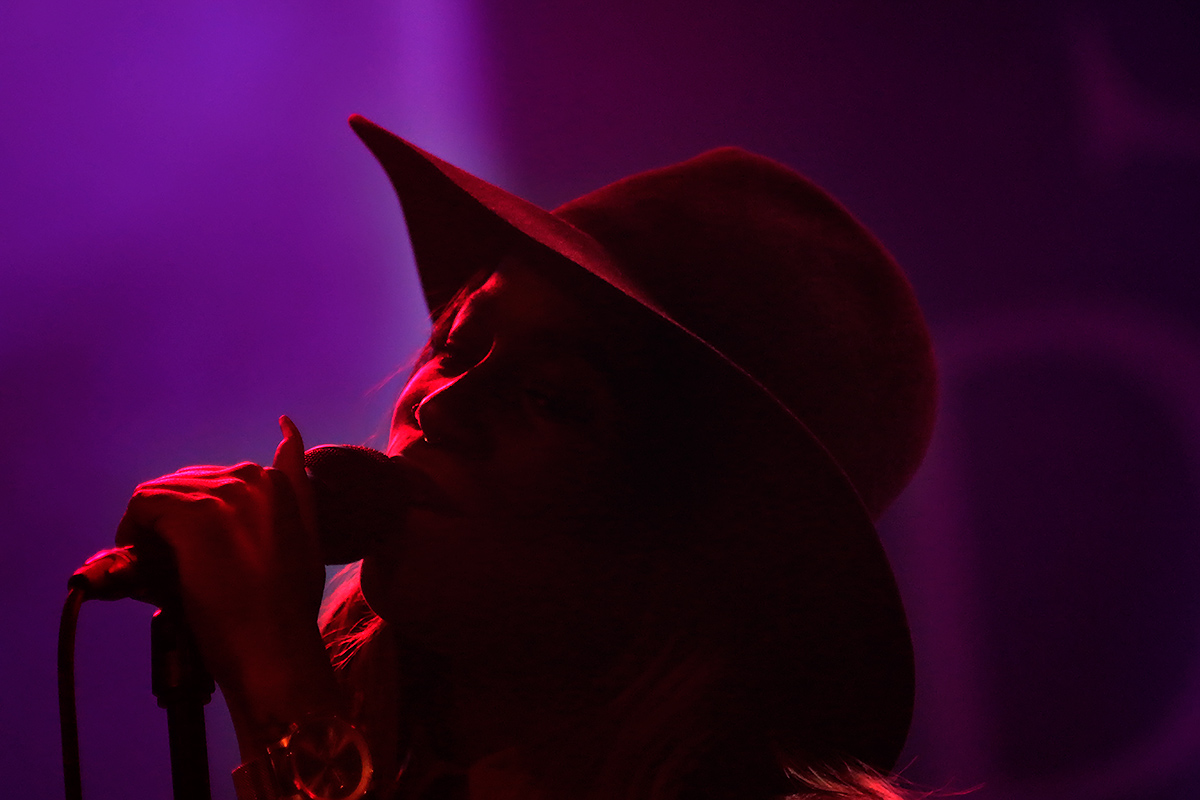 Sabina Ddumba, the Swedish soul singer, performing at club Tavastia in Helsinki, Finland on March 27 2016. Picture: Tony Öhberg for Finland Today