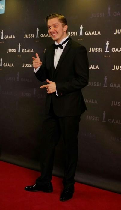 Eero Ritala, a nominee for the best actor in a supporting role in 'Häiriötekijä'. Picture: Morgan Walker for Finland Today