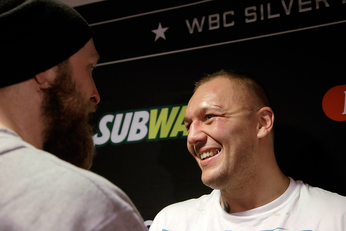 Helenius and Duhaupas parted with mutual respect. Picture: Tony Öhberg for Finland Today