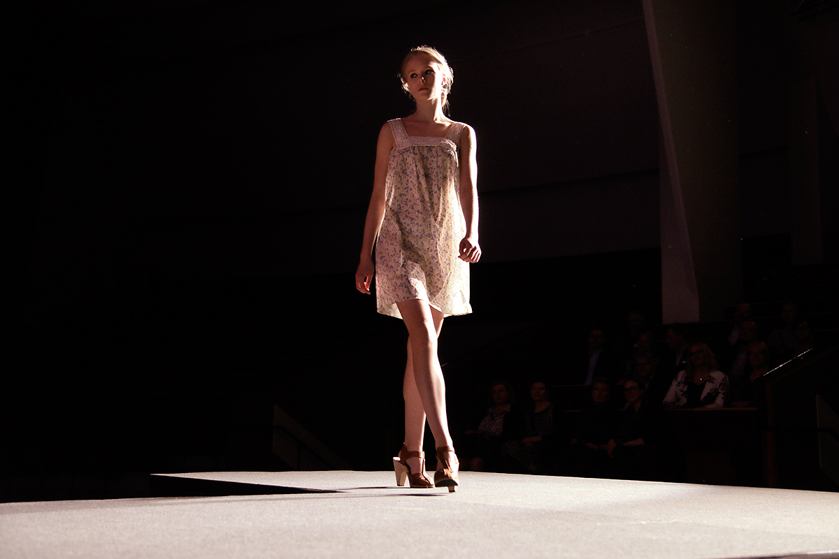 A sweet light cotton floral dress. Picture: Tony Öhberg for Finland Today