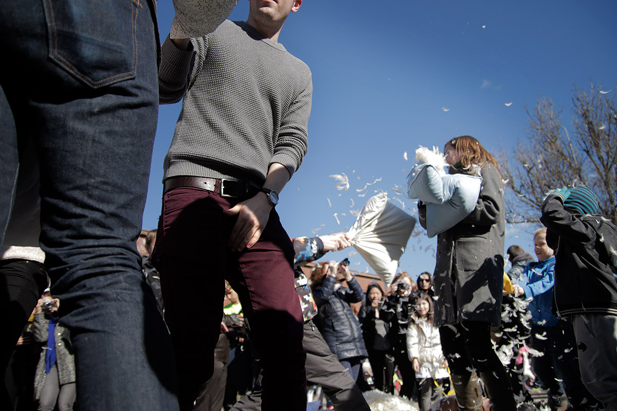 Protect your private parts! Picture: Tony Öhberg for Finland Today