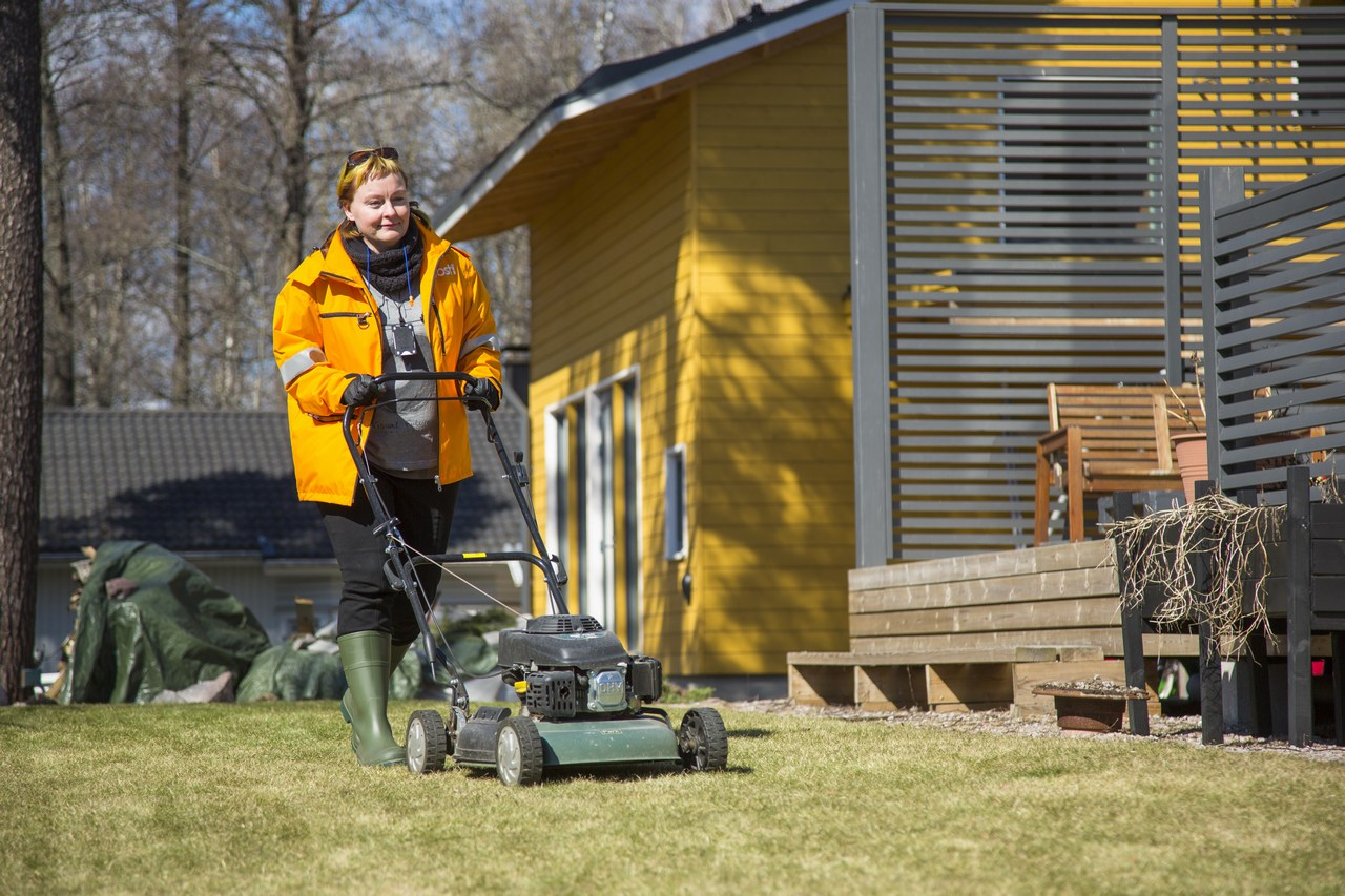 Posti Will Cut Your Grass Starting From May – Oh, And They Will Still Deliver Your Mail, Too