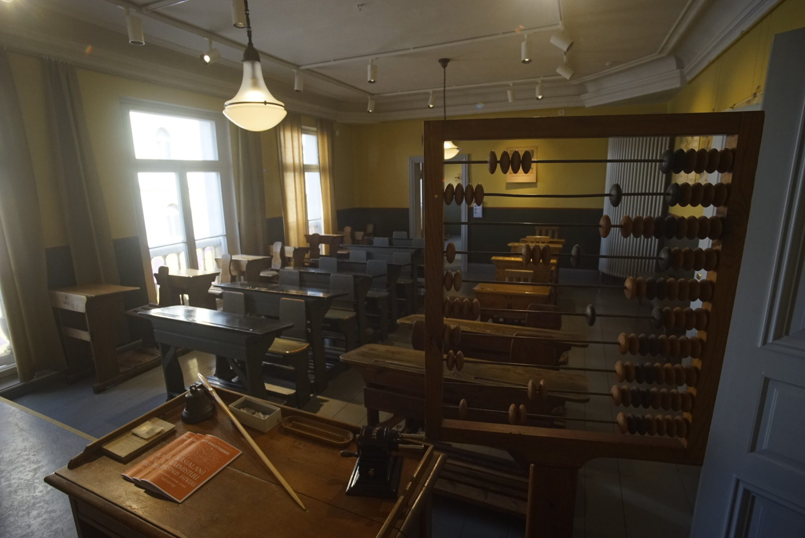 The old classroom. Picture: Morgan Walker for Finland Today