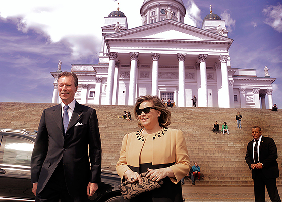 "President Niinistö and Grand Duke Henri of Luxembourg: ""Small Countries Think Alike"""