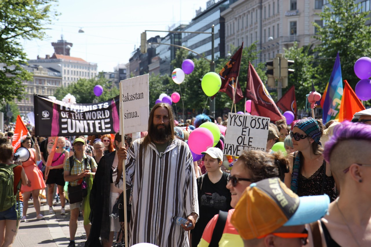 A Group of Lions Is a Pride: Helsinki Pride March at a Record-Breaking 30,000