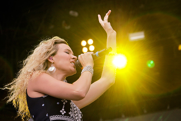 PICTURES: Joss Stone and Lauryn Hill Whip the Crowd In a Frenzy at Pori Jazz Festival