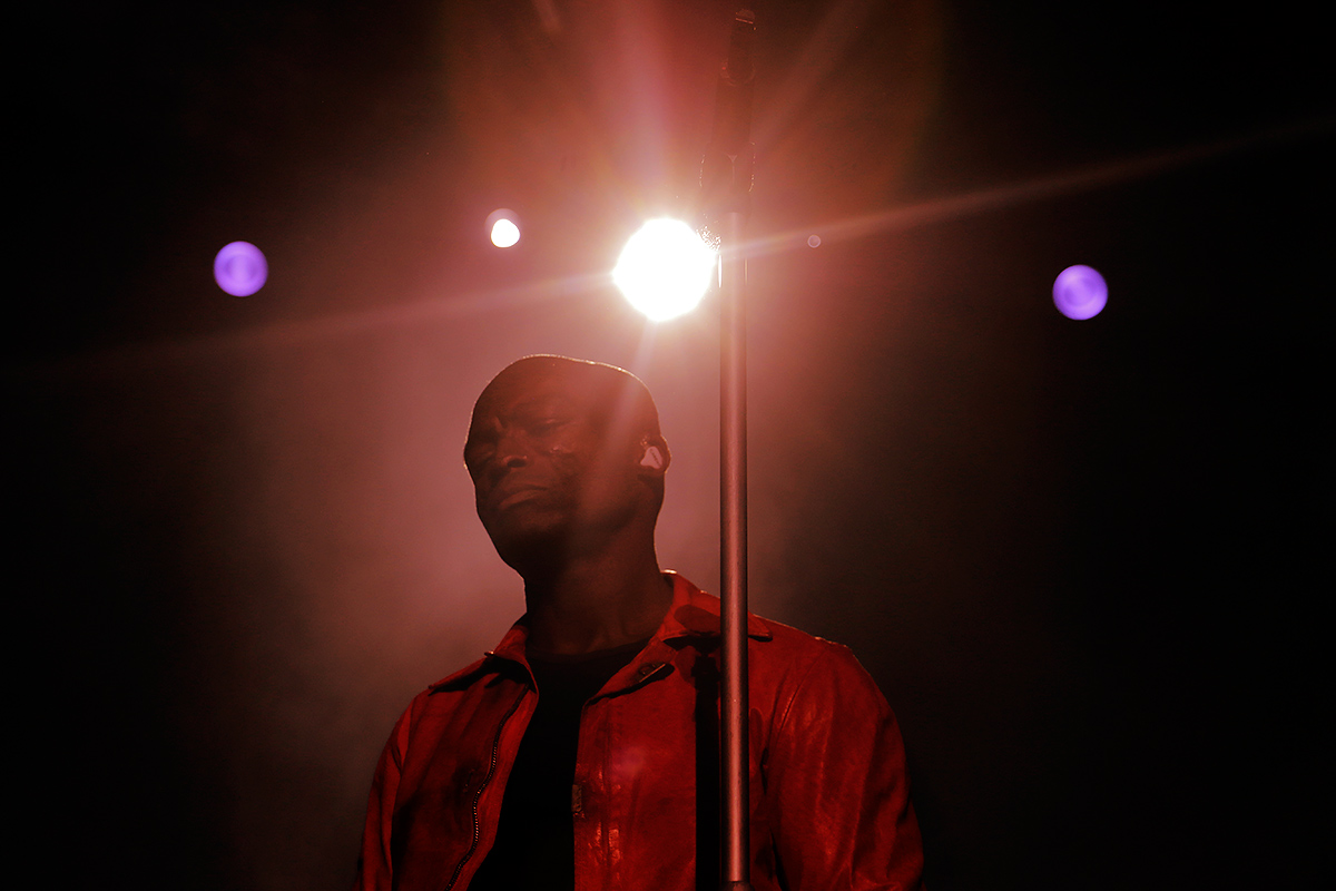 Seal, the British soul singer, took the audience through a range of emotions. He was the headliner of Saturday evening at the Pori Jazz Festival on July 16 2016.