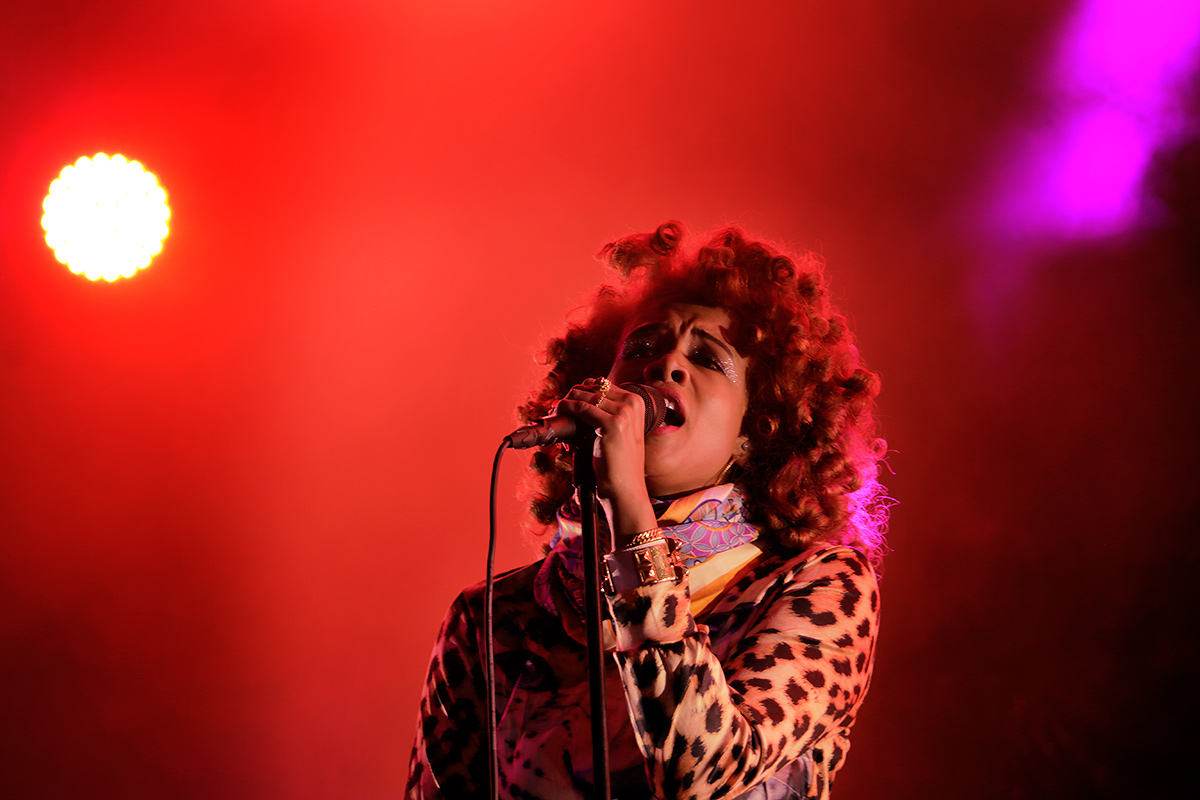 Kelis was the highlight of Friday. Picture: Tony Öhberg for Finland Today