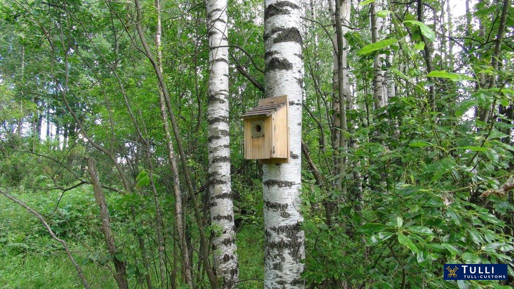 Some of the drugs were delivered in nest boxes. Picture: The Finnish Customs