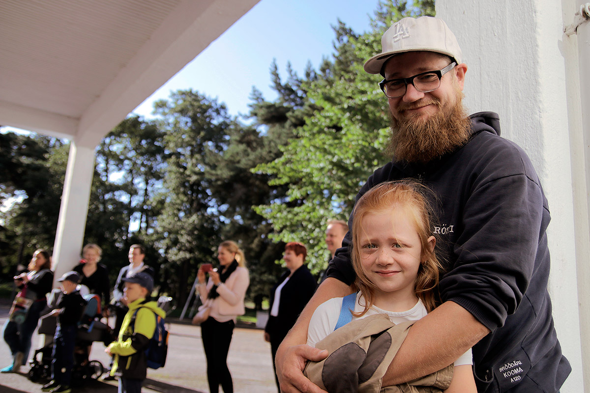 Veera and her father Jussi. Picture: Tony Öhberg for Finland Today