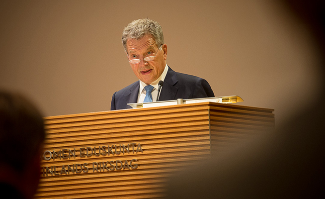 President Niinistö: Finland Is Safe, Peaceful and Developed – However, There Are Some Problems