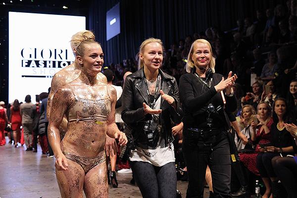 Gloria Fashion Show Takes It Back To the 70's