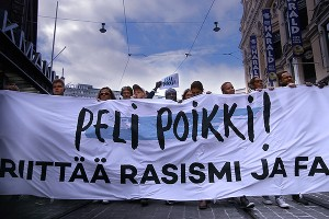 15,000 Strong Blow the Whistle on Racism in Helsinki