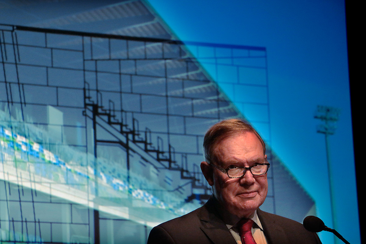 Paavo Lipponen, the former prime minister of Finland, wished that the northern part of the country would be known for its architecture rather than as an exotic place. Picture: Tony Öhberg for Finland Today