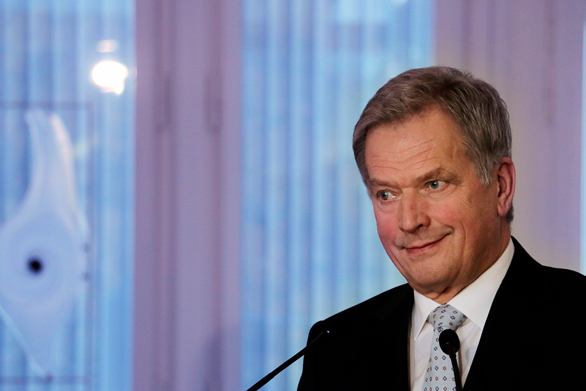 President Niinistö Warns Against the Dangers of Rising Protectionism