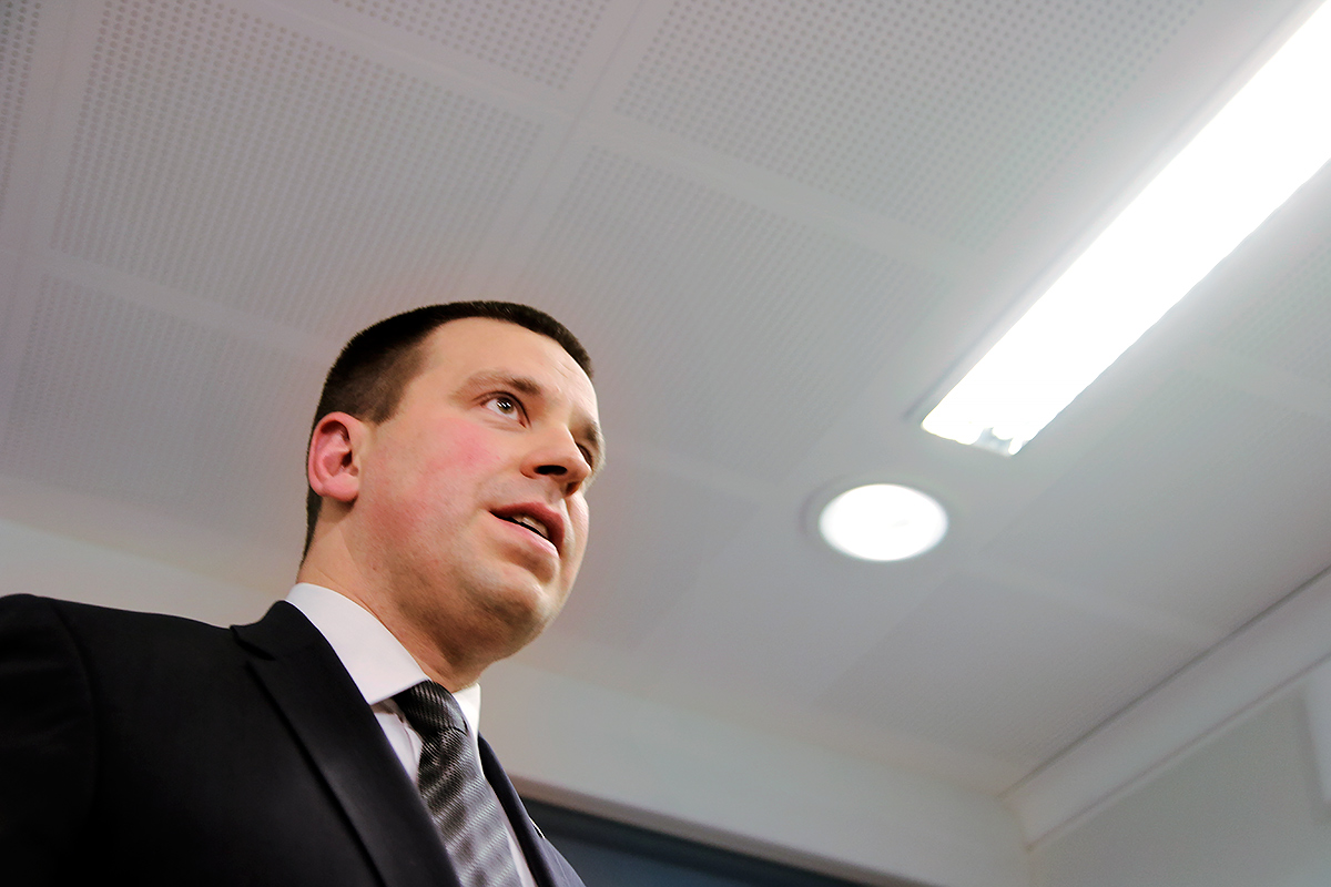 Prime Minister Jüri Ratas looks forward to enhancing the business relations between Finland and Estonia. Picture: Tony Öhberg for Finland Today