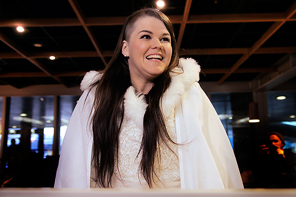 Saara Aalto Arrived in Helsinki