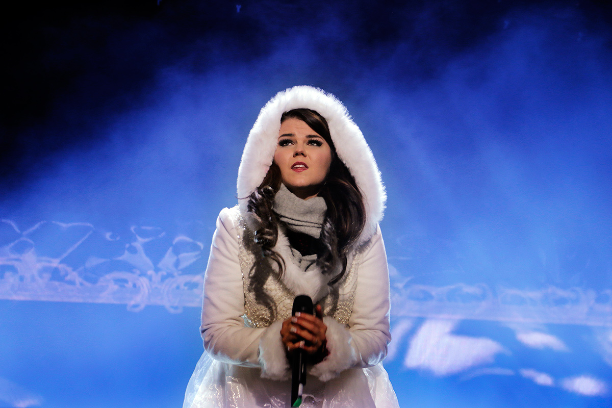 Saara Aalto melted the crowd. Picture: Tony Öhberg for Finland Today