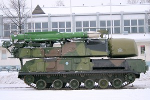 The BUK Missile System That Shot Down the Malaysian Airlines Plane Preserved in a Museum in Tuusula