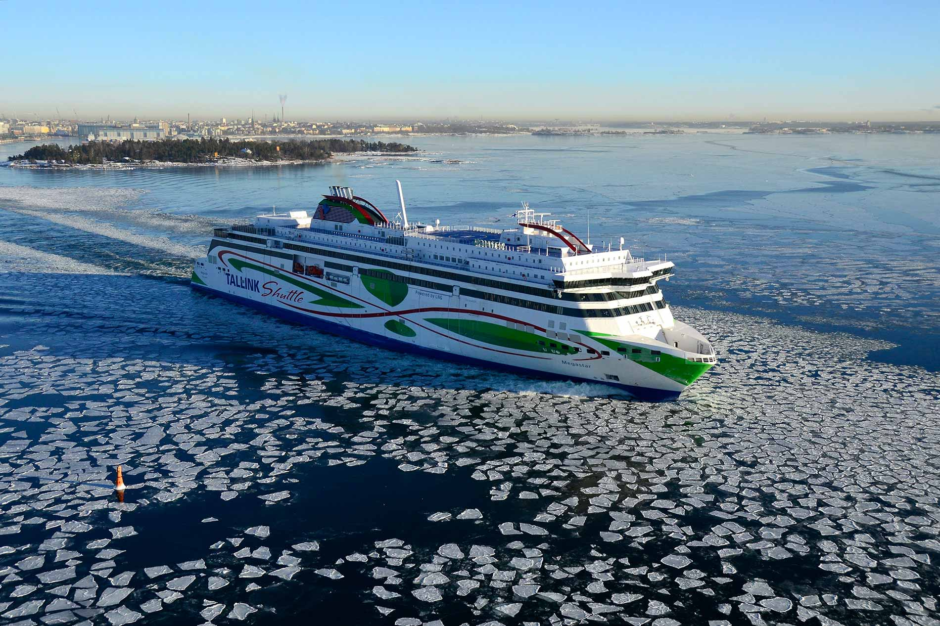 There's a New Tallink Ferry in Traffic, and It's a Luxurious One