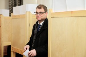 Prime Minister Juha Sipilä Votes in Advance: 'A Woman Received a Vote'