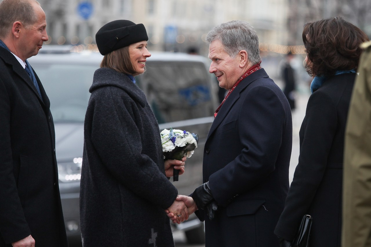 President Niinistö After Meeting His Estonian Counterpart Kaljulaid: We Are Like Siblings