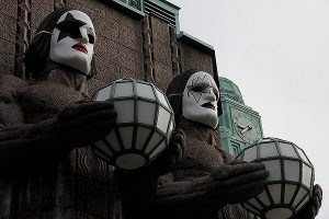 The Iconic Statues of Helsinki Railway Station Look Now Like the Members of Kiss