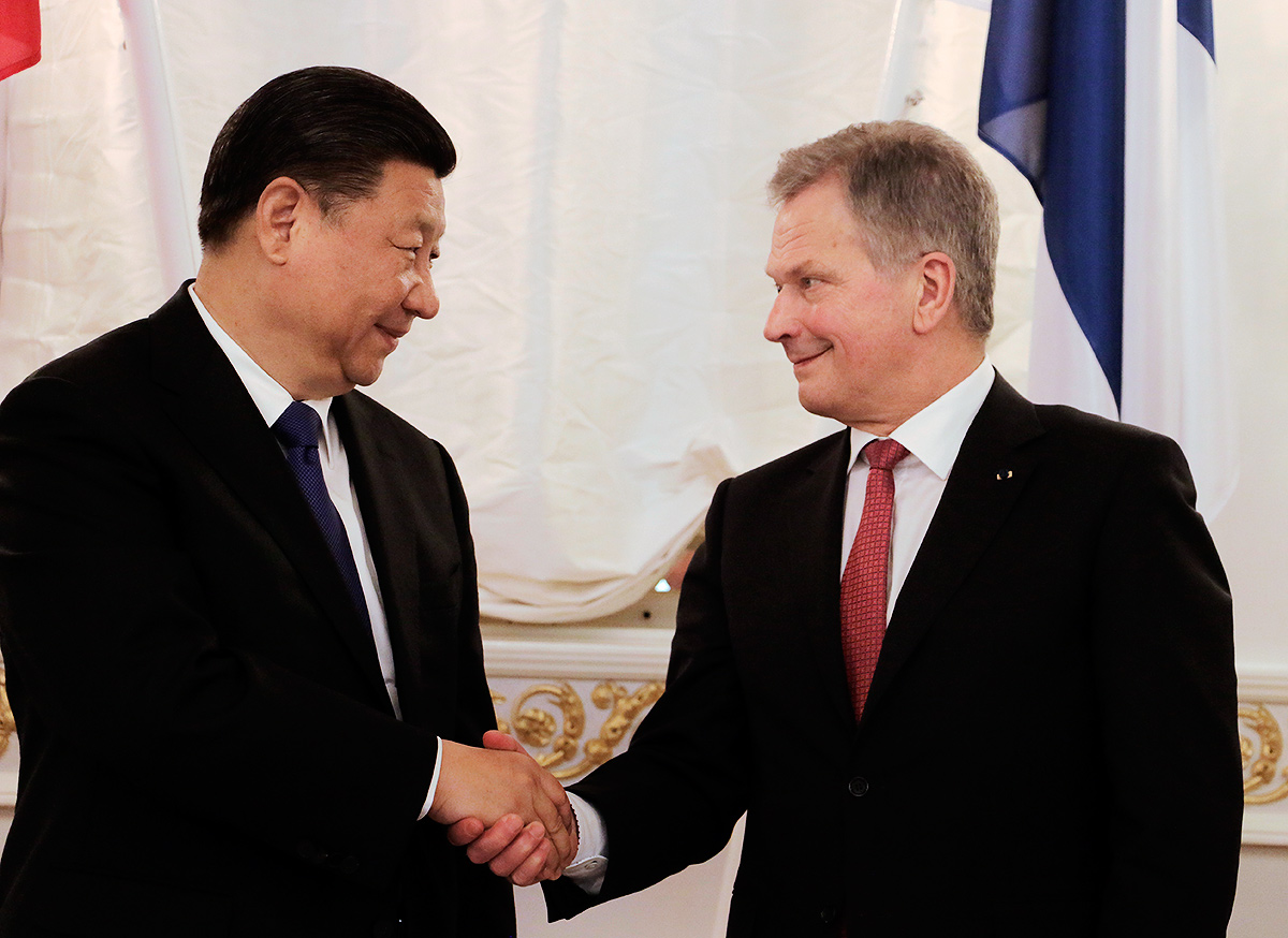 President Sauli Niinistö to Visit China – Will Attend Opening of China-Finland Winter Sport Year