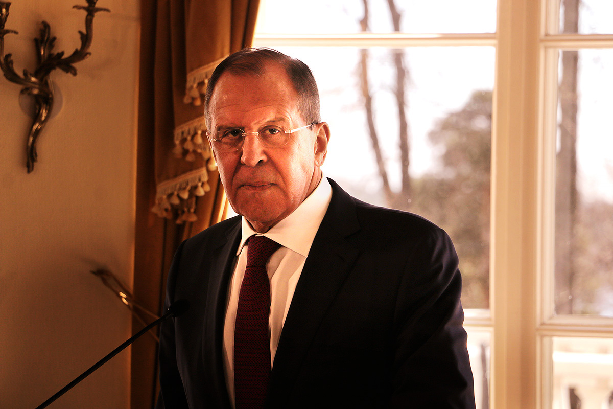 Russian Foreign Minister Sergei Lavrov Visits Finland on Tuesday