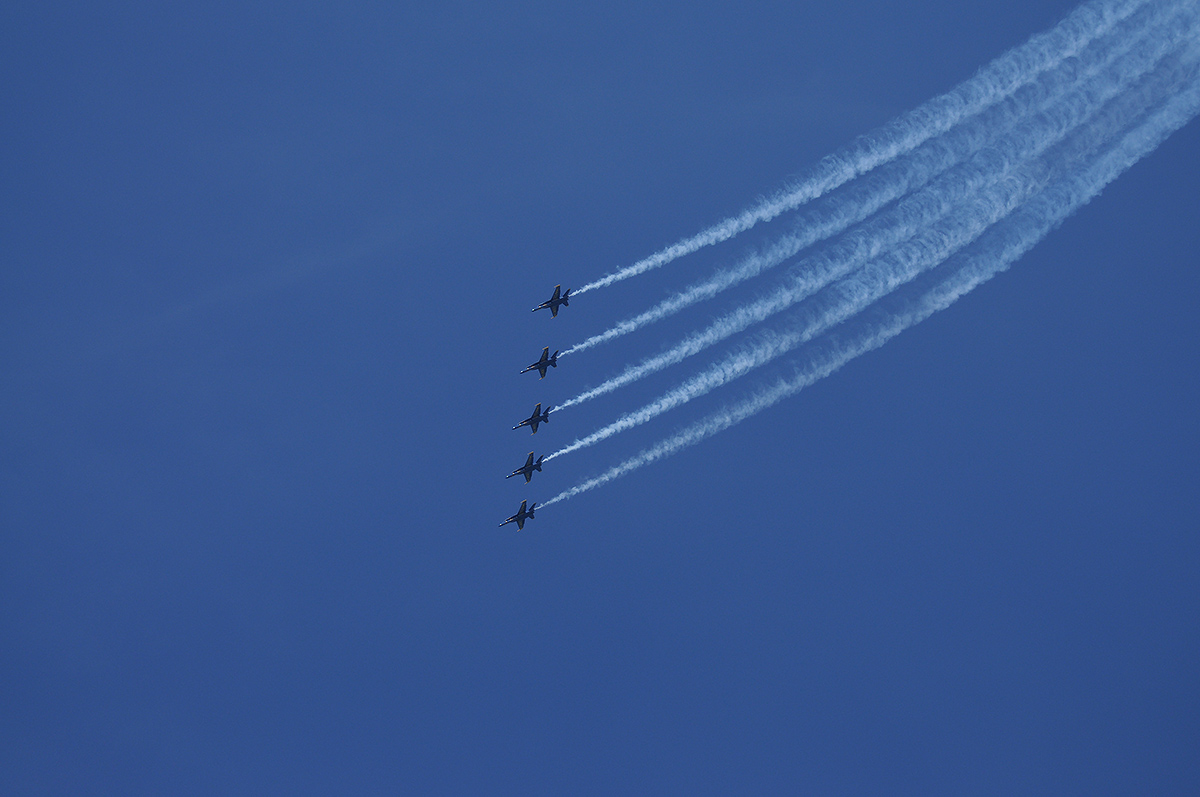 Massive Air Show Takes Over Kaivopuisto Sky on Friday – Seen Previously in the '50s