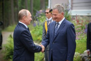 Putin Arrived in Finland to Congratulate Its Centenary, Agreed to Clean 'the Chemical Chernobyl'