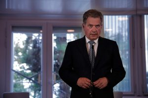 US, Britain and France Bomb Syria on Friday - President Sauli Niinistö Releases a Statement