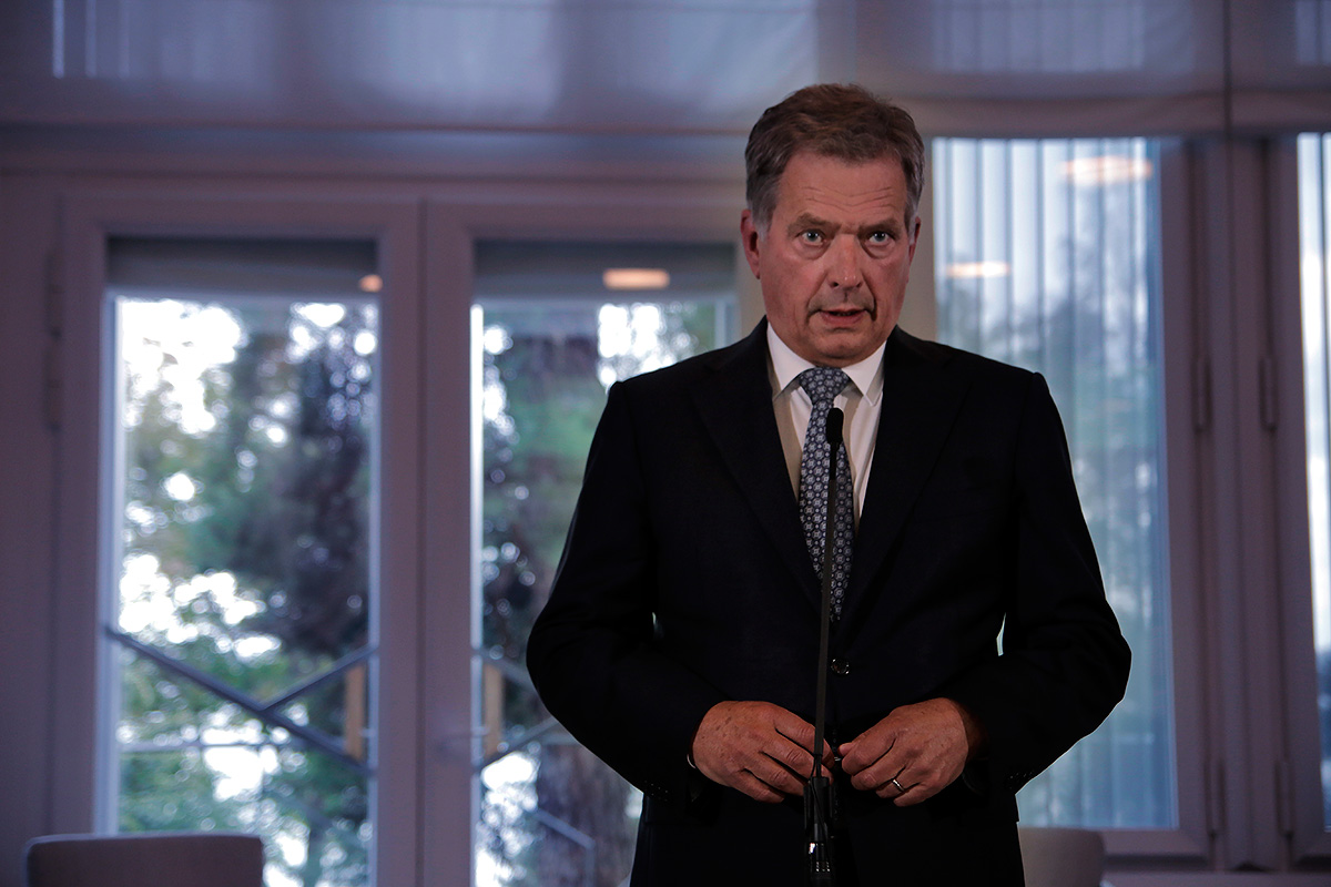 President Niinistö: Hate Prevents Us From Preparing Against Evil