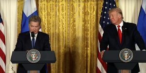 Presidents of Finland and US meet at the White House - Our Relationship With Finland Is a Very Close...