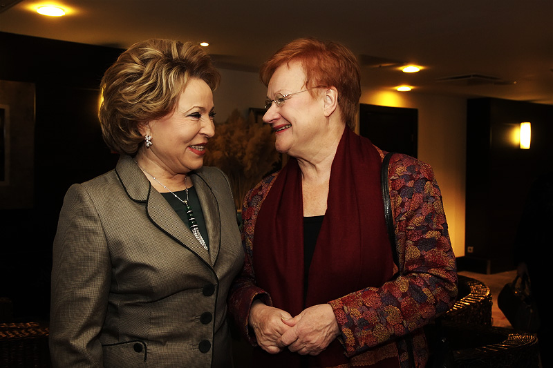 Tarja Halonen to the Men of Foreign Ministry: Don't Worry, Smart Men Will Survive
