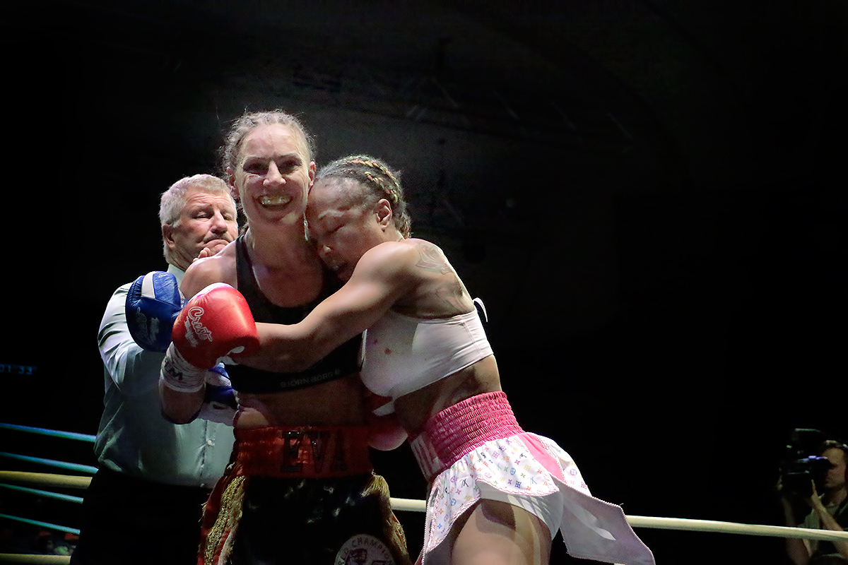 Still World Champion! Finnish Boxer Eva Wahlström Defends Her Title With Hard-Hitting Passion