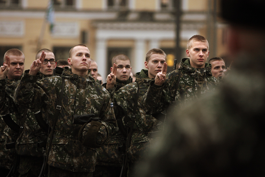 12,000 Conscripts Begin Military Service in a Revamped Format
