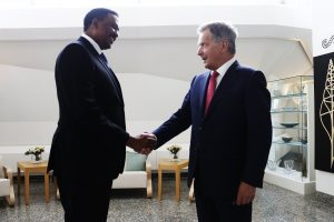 Ethiopian Foreign Minister Workneh Gebeyehu Discusses Development Cooperation in Finland