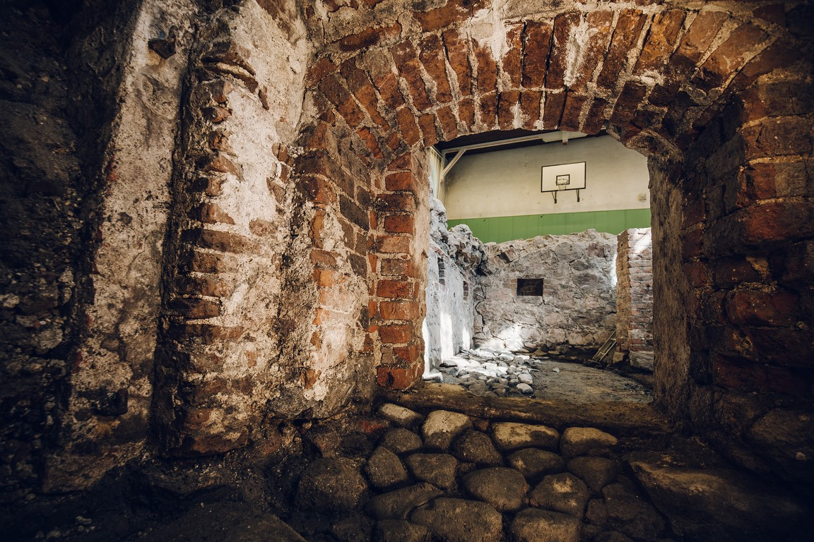 Ruins Found Under a School in Turku Reveal Medieval Houses and a Street