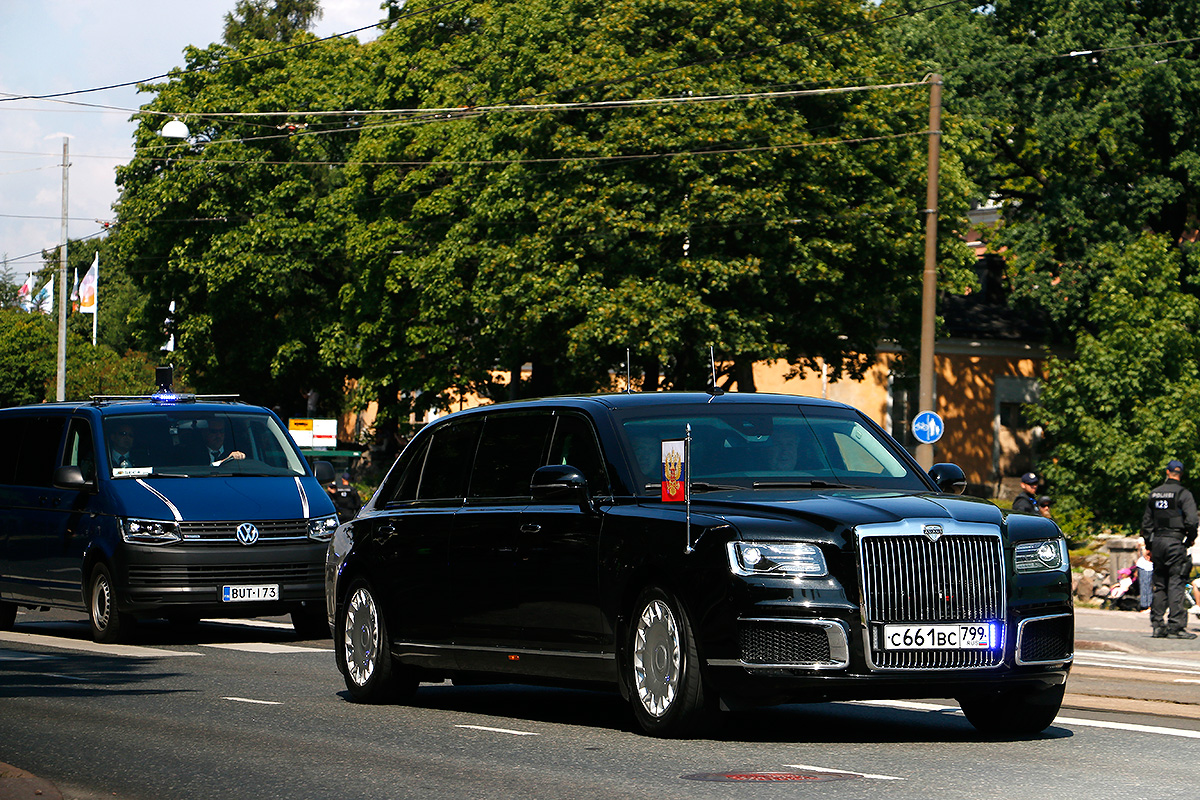 The Presidential Motorcades of Putin and Trump Speed Through Helsinki Center – VIEW THE PICTURES