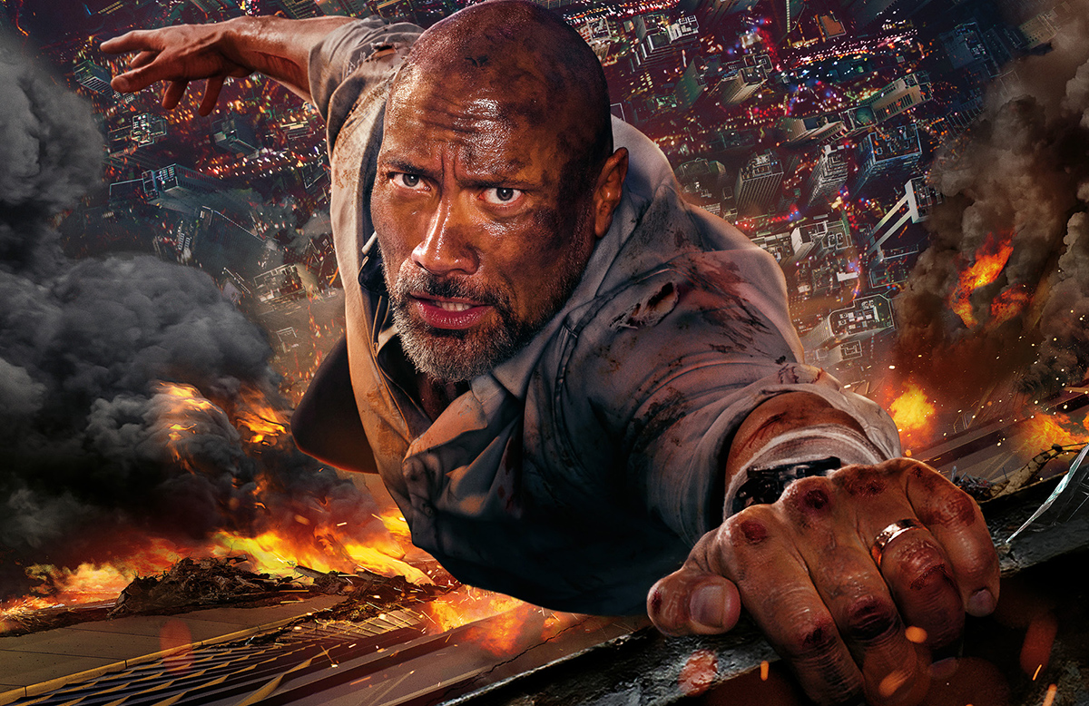 'Skyscraper' Film Review: Dwayne Johnson's Best Performance to Date