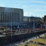 10,000 People Demand Action Against Global Warming in Their March to Parliament Building
