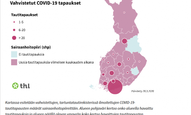 50 New Coronavirus Infections Confirmed in Finland; Total Now 450