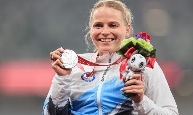 Finnish Wheelchair Athlete Amanda Kotaja Takes Silver at the Tokyo Paralympics