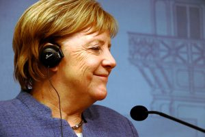German Chancellor Angela Merkel About Finland and Germany: We Are Economically Strong and Innovativ...