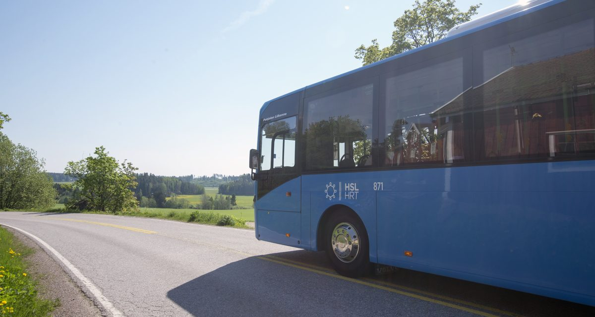 Changes to Public Transport in Helsinki, Vantaa and Espoo Area in August